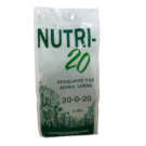 bag of Nutri-20 fertilizer